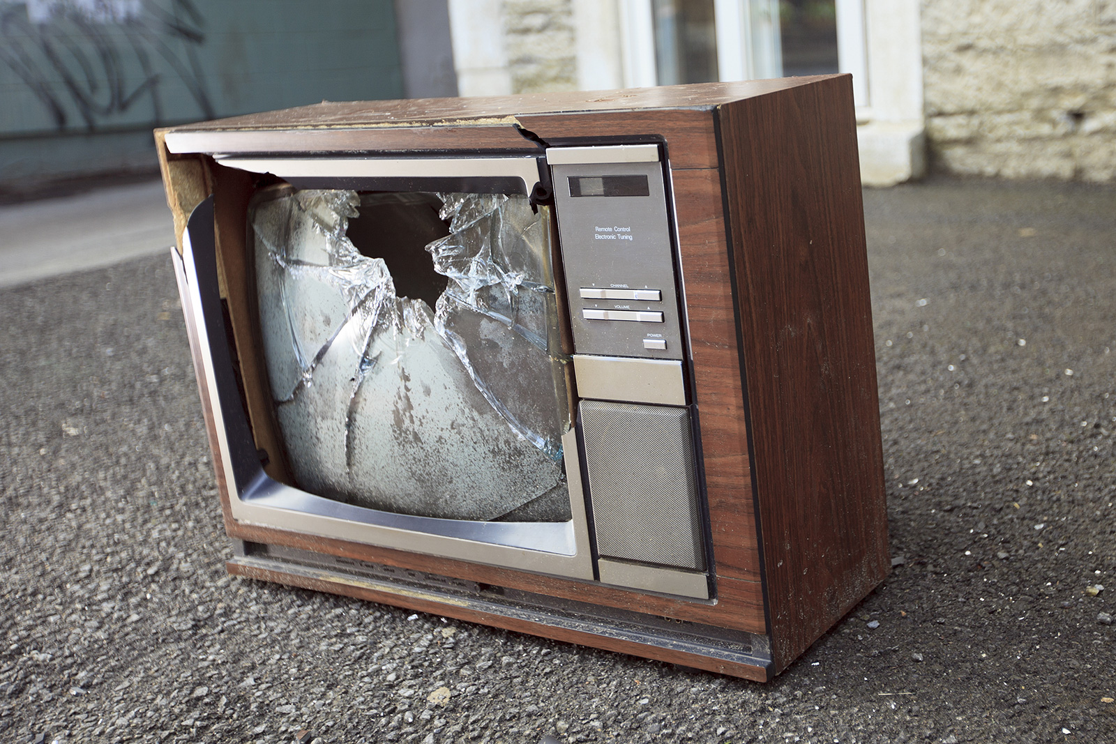 TV Destruction (Free Sounds)